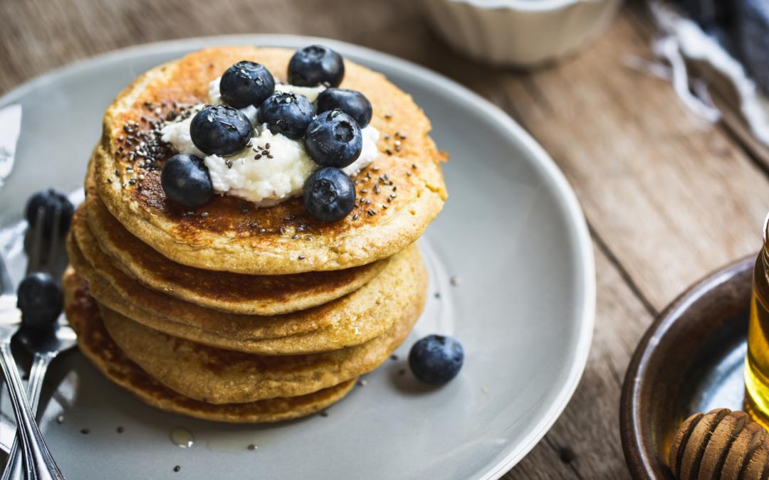 Recette #1 – Pancakes à la farine de teff