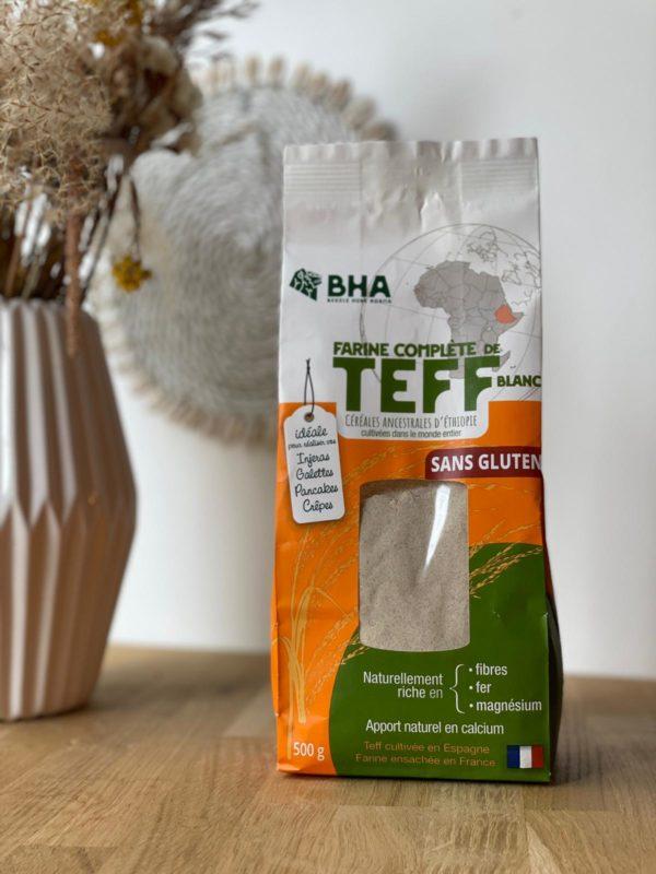 Farine complète de teff blanc - BHA